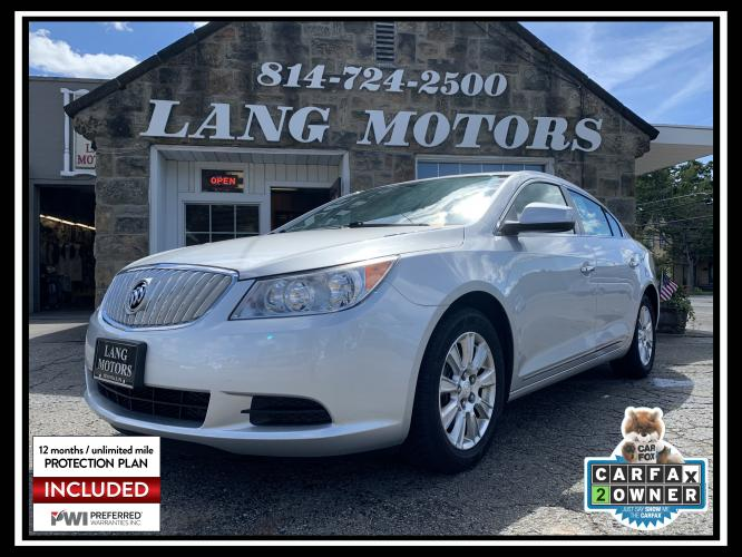 2011 Silver /Gray Buick LaCrosse CX (1G4GA5EC1BF) with an 2.4L L4 DOHC 16V engine, 6-Speed Automatic Overdrive transmission, located at 821 Market Street, Meadville, PA, 16335, (814) 724-2500, 41.641064, -80.152435 - Photo #0